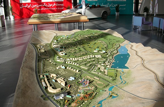 بزرگترین شهربازی خاورمیانه در منطقه ویژه اقتصادی زرندیه